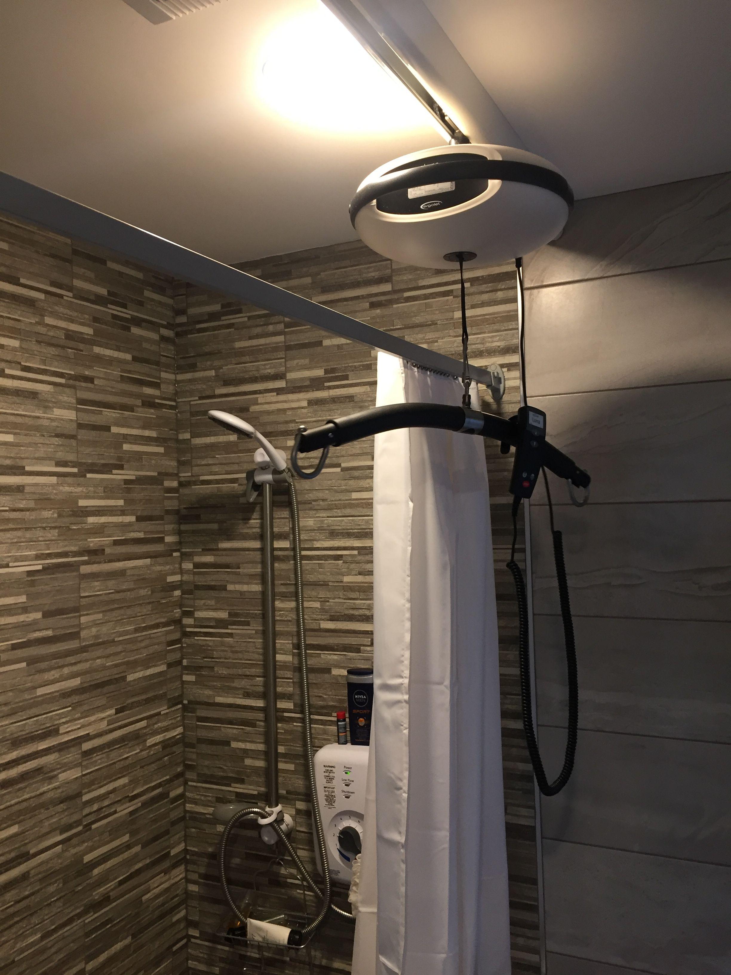 Luna hoist | Straight Track - Ceiling Fix | Dublin | Installation ...