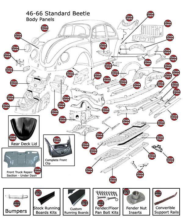 a6403c3d63709418e3633f4e0eb20f0b we supply the world with classic, vintage restoration volkswagen volkswagen beetle body parts diagram at nearapp.co