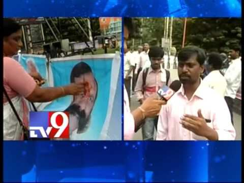 Tirupati Ruya hospital employees demand Kavui's resignation