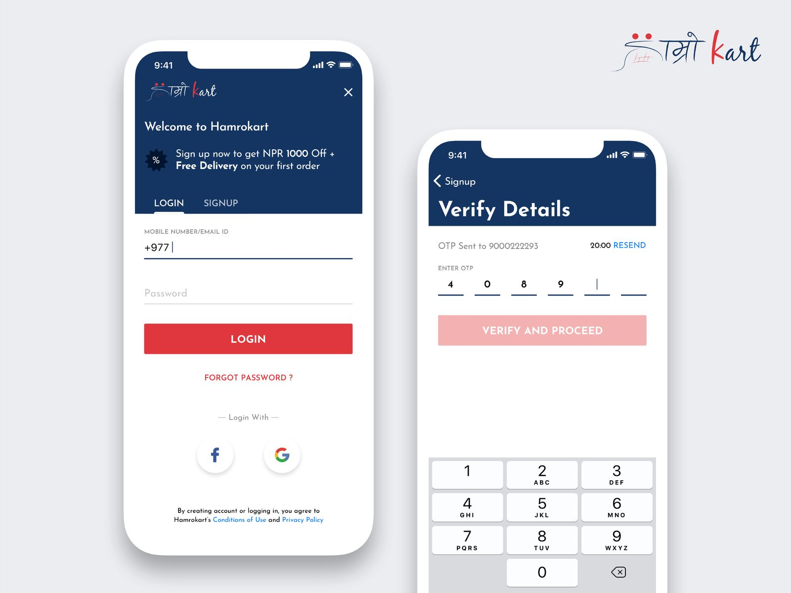 Login Screens | Mobile UI | Mobile ui, Phone