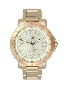 Tommy Hilfiger Rose Gold Stainless Steel Bella Bracelet Women's watch #1781472