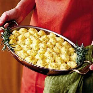 Caramelized Onion and Gorgonzola Mashed Potatoes. Oh my gosh. Yum!