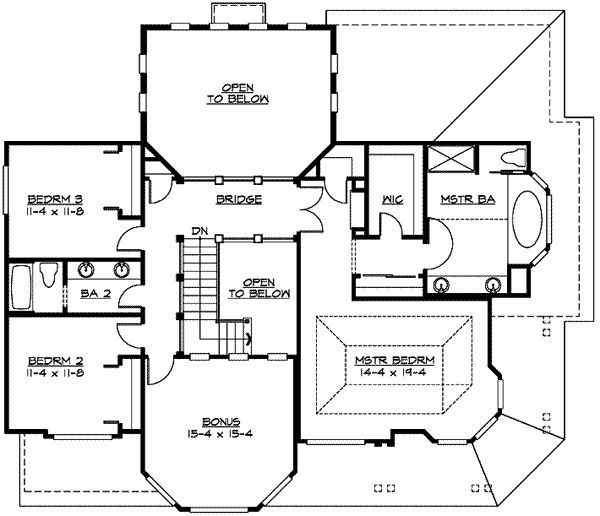 Kitchen Front House Plans