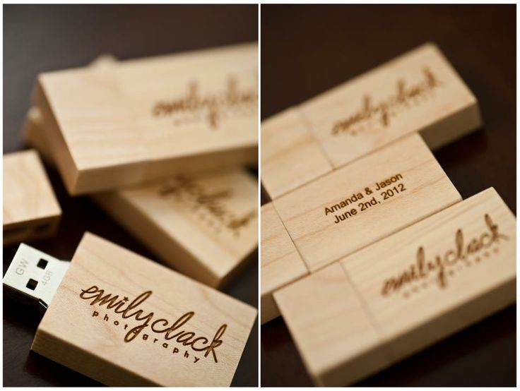 Wood Usb Drives For Client Photo