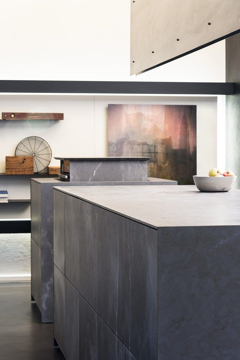 Corinthian stone freestanding kitchen D90 | Natural stone kitchen ...