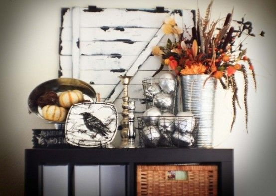 44 Cozy Rustic Halloween Decor Ideas DigsDigs Vintage Halloween - when should you decorate for halloween