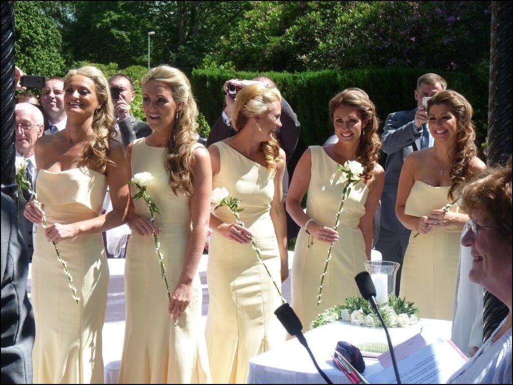 Pastel lemon bridesmaid dresses dresses and gowns ideas pastel lemon bridesmaid dresses ombrellifo Images