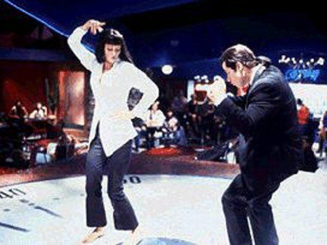 Pulp Fiction Twist Contest Dance The Famous Dance Scene 11