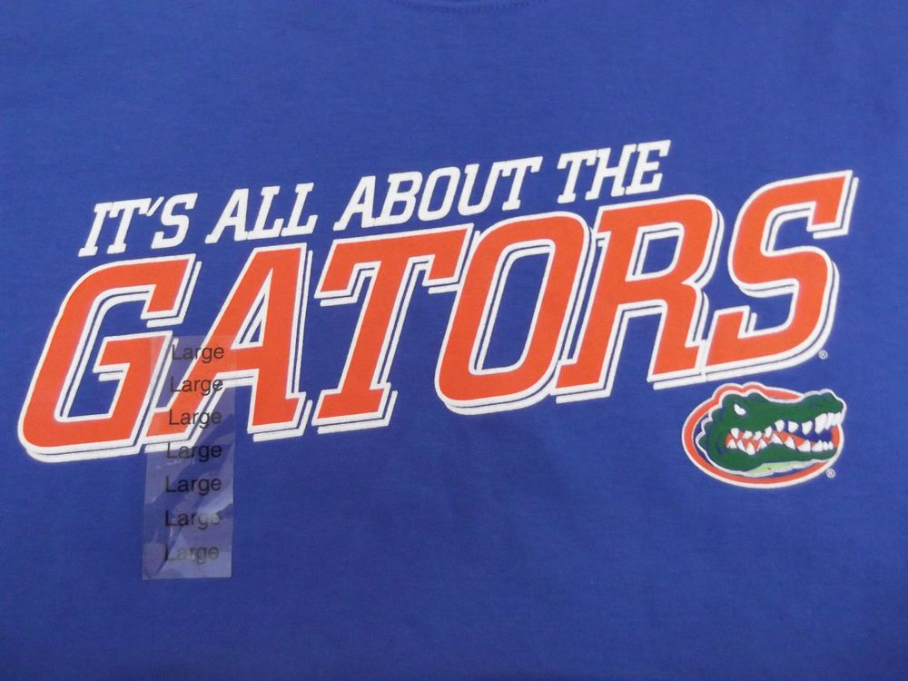 Florida Gator Nation! NCAA Tee Shirt Large It's All About