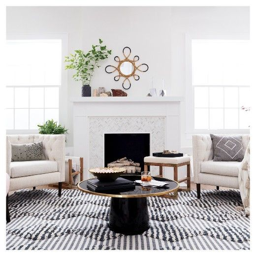 Nate Berkus For Target Furniture Collection Living Room Modern Global