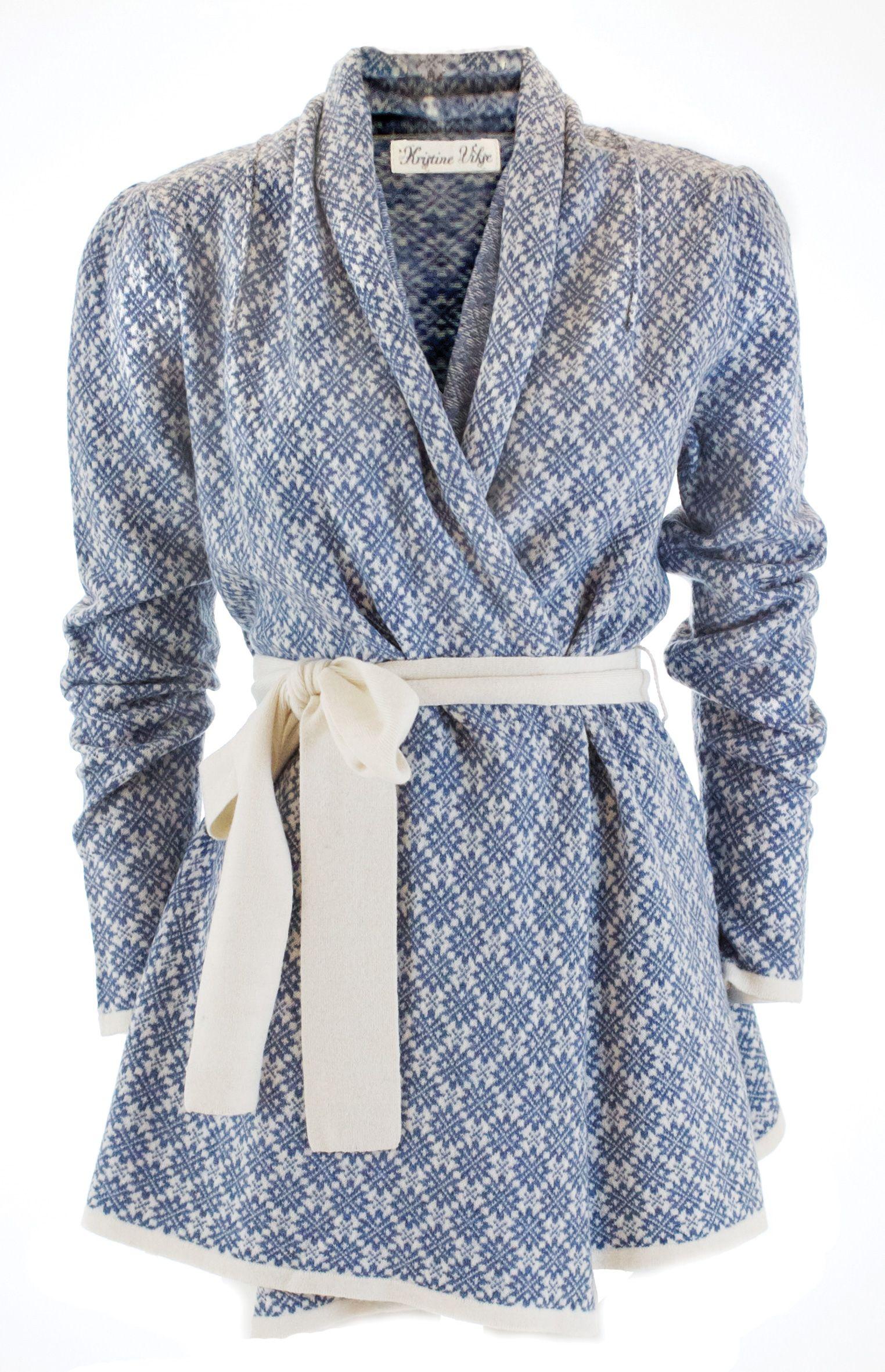 Knitjacket wool Kristine Vikse fall/winter 12