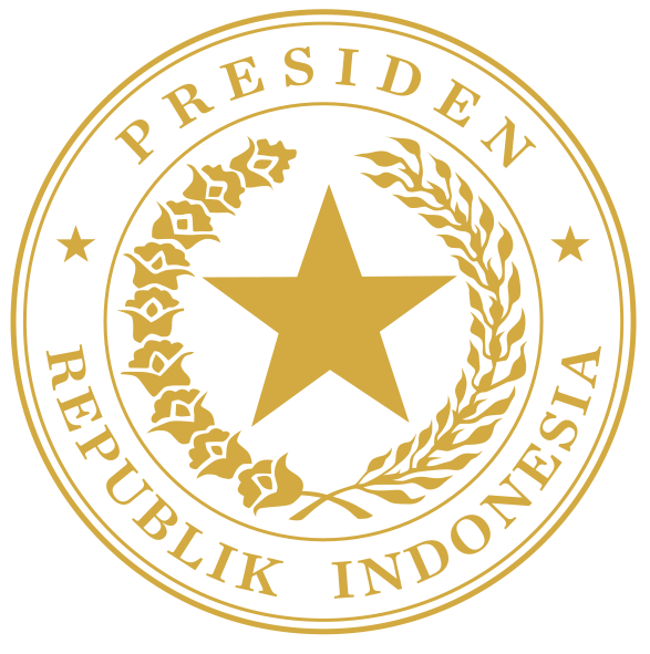 Indonesian Presidential Seal Gold Svg Kepala Pemerintahan Kepala Negara Indonesia