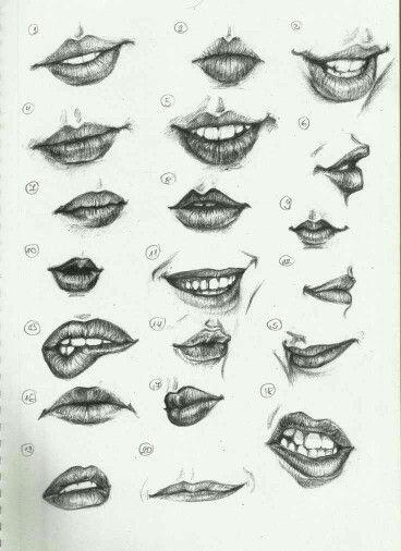Pin De Francy Helena Osorio Gomez En Para Dibujar Dibujos De Labios Dibujos Como Dibujar Labios