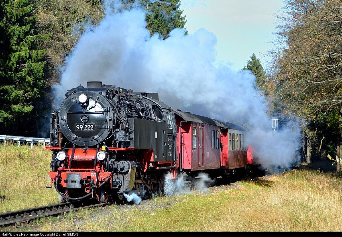 RailPictures.Net Photo: 99 222 Harzer Schmalspurbahnen Steam 2-10-2T at Drei Annen Hohne, Germany by Daniel SIMON