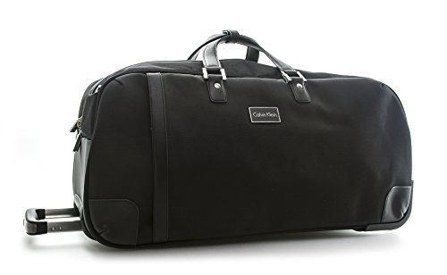 82773c560c80 Calvin Klein Cortlandt 20 25 Wheeled Duffle Rolling Duffel Black One Size    Click image for