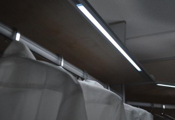 Wardrobe Lighting Ideas Wardrobe Lighting Strip Lighting Led Strip Lighting