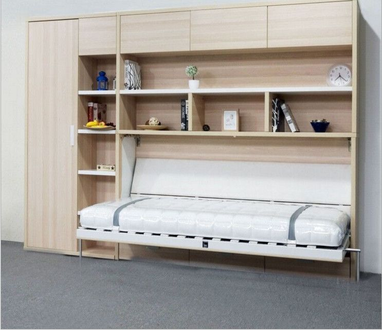 Furniture 0 Interest: 529731207433 Single Folding Furniture Invisible Wall Bed 0