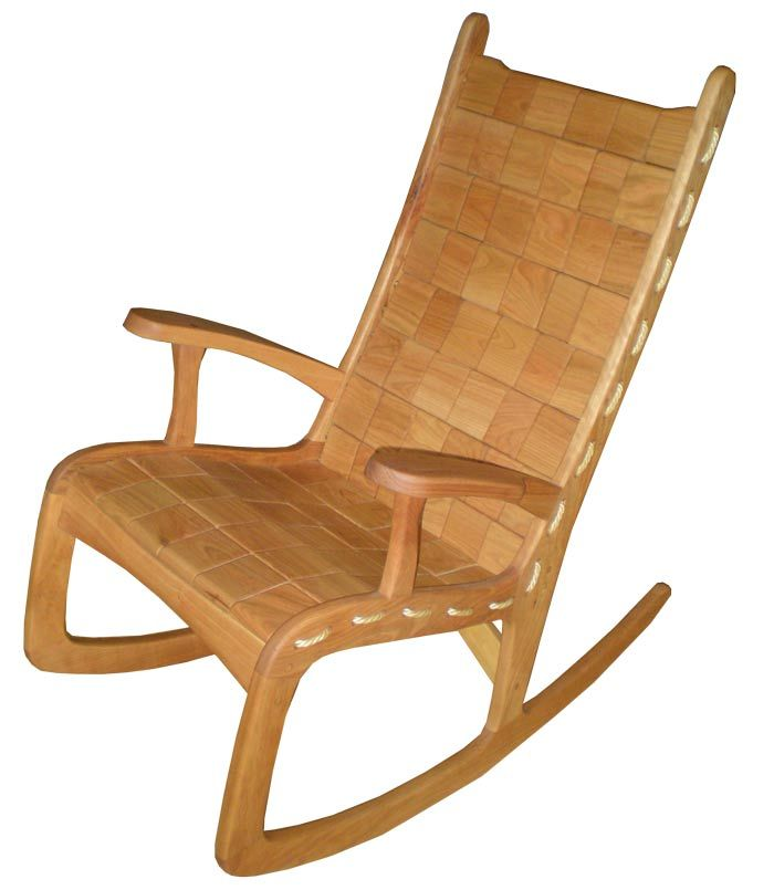 best service 89d5a afa24 Custom Quilted Vermont Rocking Chair - Cherry in 2019 | For ...