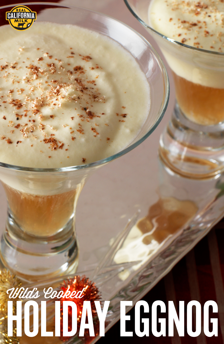 Kick off the holiday season with this boozy drink tradition. Wilds Cooked Holiday Eggnog is sure to be the hit cocktail at your next party.