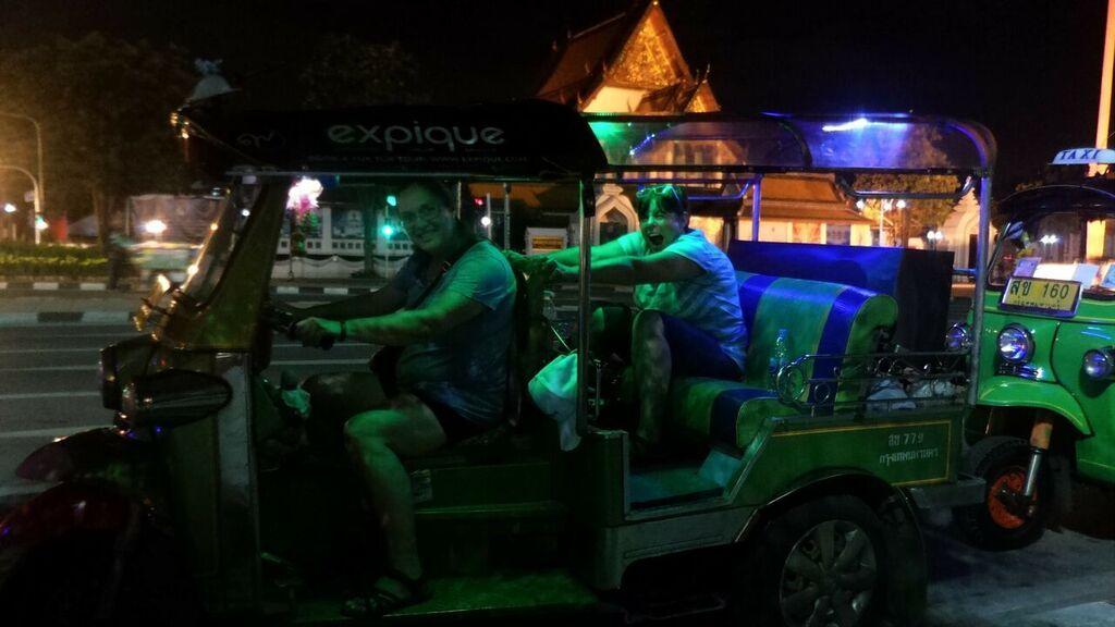 Bangkok tuk tuk tour see bangkok by night with expqiue