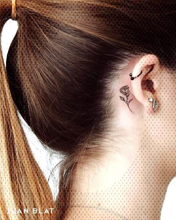 Tattoos Behind Ear | 50+ Models | Tattoos - Ideas - Tattoos Behind Ear | 50+ Models | Tattoos –