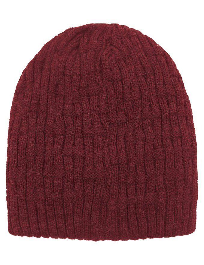 110de261a0b Dahlia Men s Beanie Hat - Cable - Black at Amazon Men s Clothing store   Skull Caps