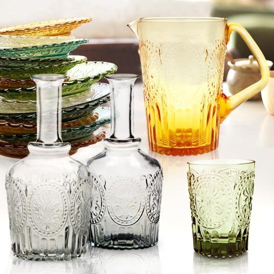 Van Verre Handmade Glassware collection on HushHush