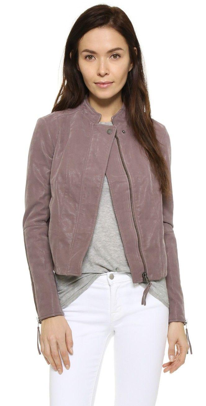 Free People Clean Minimal Jacket Vegan Suede Jacket Vegan Leather Jacket Fashion [ 1307 x 664 Pixel ]