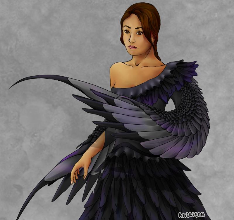 Katniss everdeen dress tumblr color