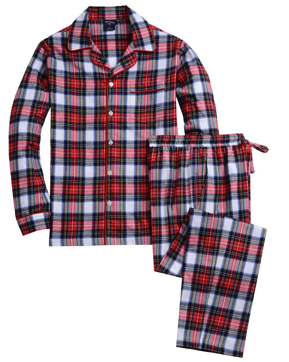 fcfe2a891b4f Holiday Tartan Pajama Set - Boxers Lounge - Bills Khakis