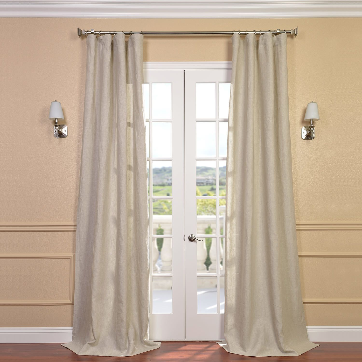 Best Planning Window Treatments For French Doors Window