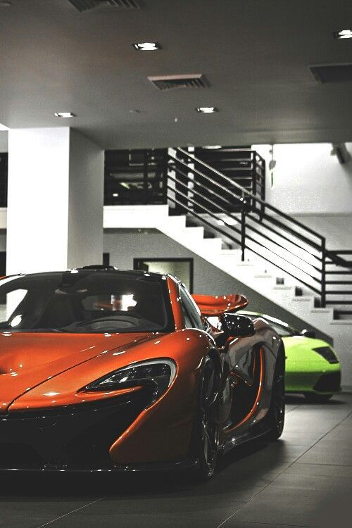 Orange Mclaren P1 Luxury Dark Wallpaper Mansion Interior Black Lamborghini, perfect wallpaper for y