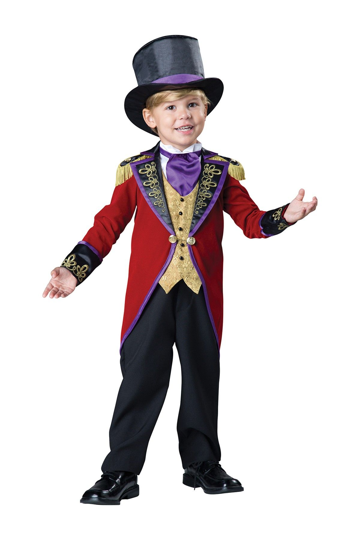 273364393 Ringmaster Costume (Toddler Boys). Ringmaster Costume (Toddler Boys)  Toddler Boy Halloween Costumes ...
