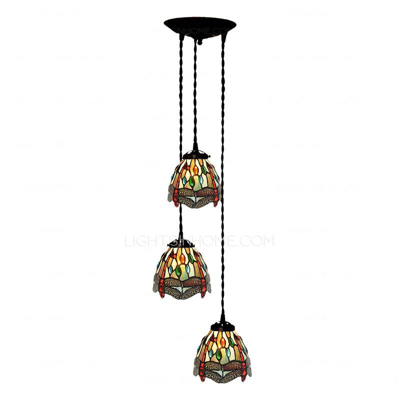 Catchy stained glass pendant light dragonfly pattern stained glass catchy stained glass pendant light dragonfly pattern stained glass tiffany pendant lights kitchen aloadofball Gallery