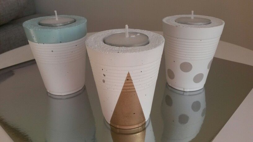 Small candleholders