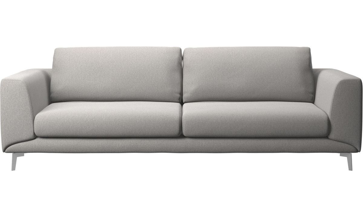 Sofa Foam Leeds The Fargo Sofa By Boconcept Seen Here In Light Gray Leeds Fabric