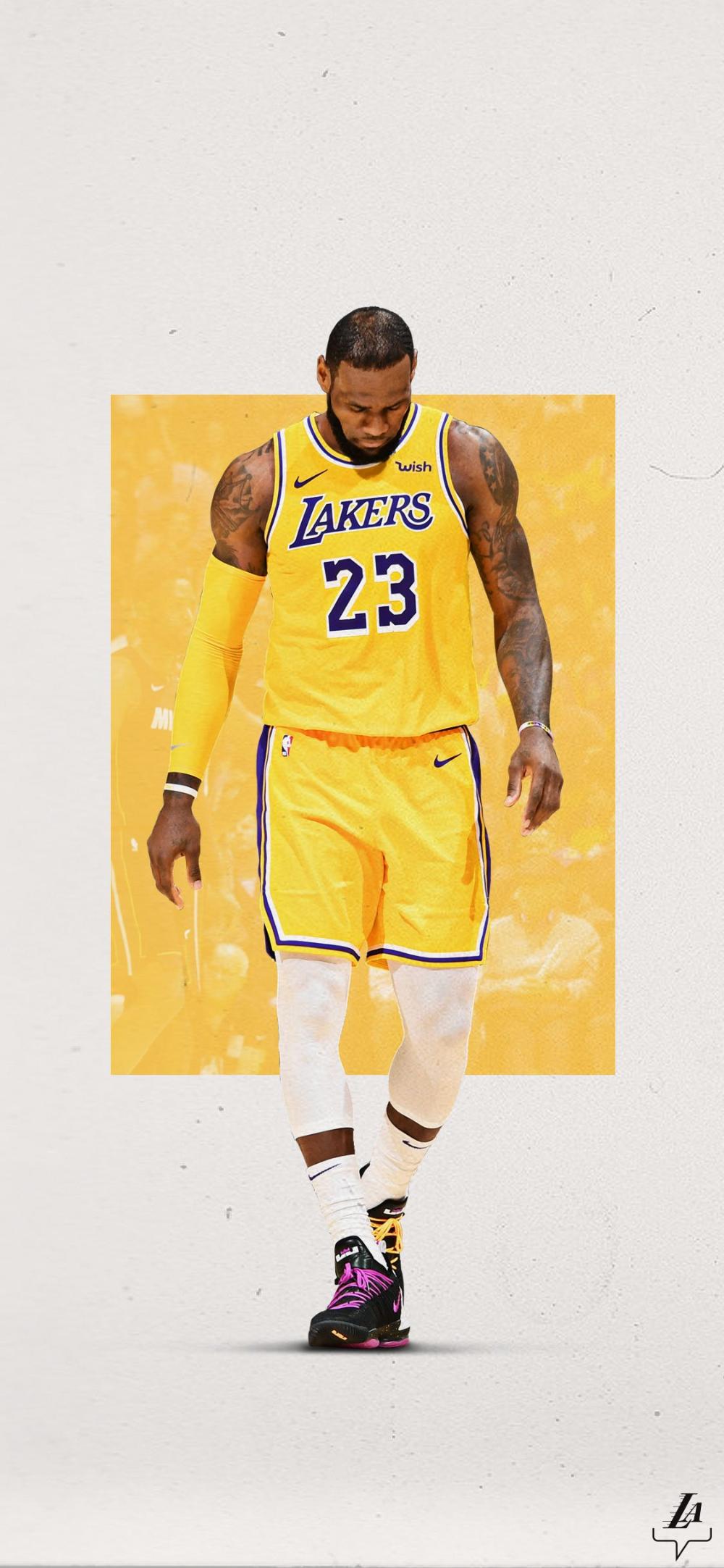Los Angeles Lakers On Twitter Lebron James Wallpapers Lebron James Lakers Lebron James Art