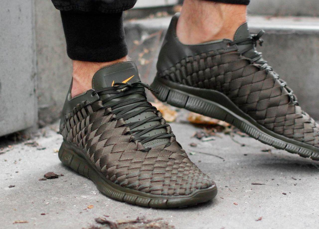 sports shoes 0ff77 fcfc6 ... Nike Free Inneva Woven Tech SP - Dark Loden ...