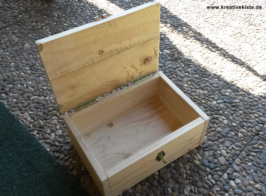Holz Schatzkiste Bauanleitung Schatzkisten Holzkiste Bauen Spardose Holz