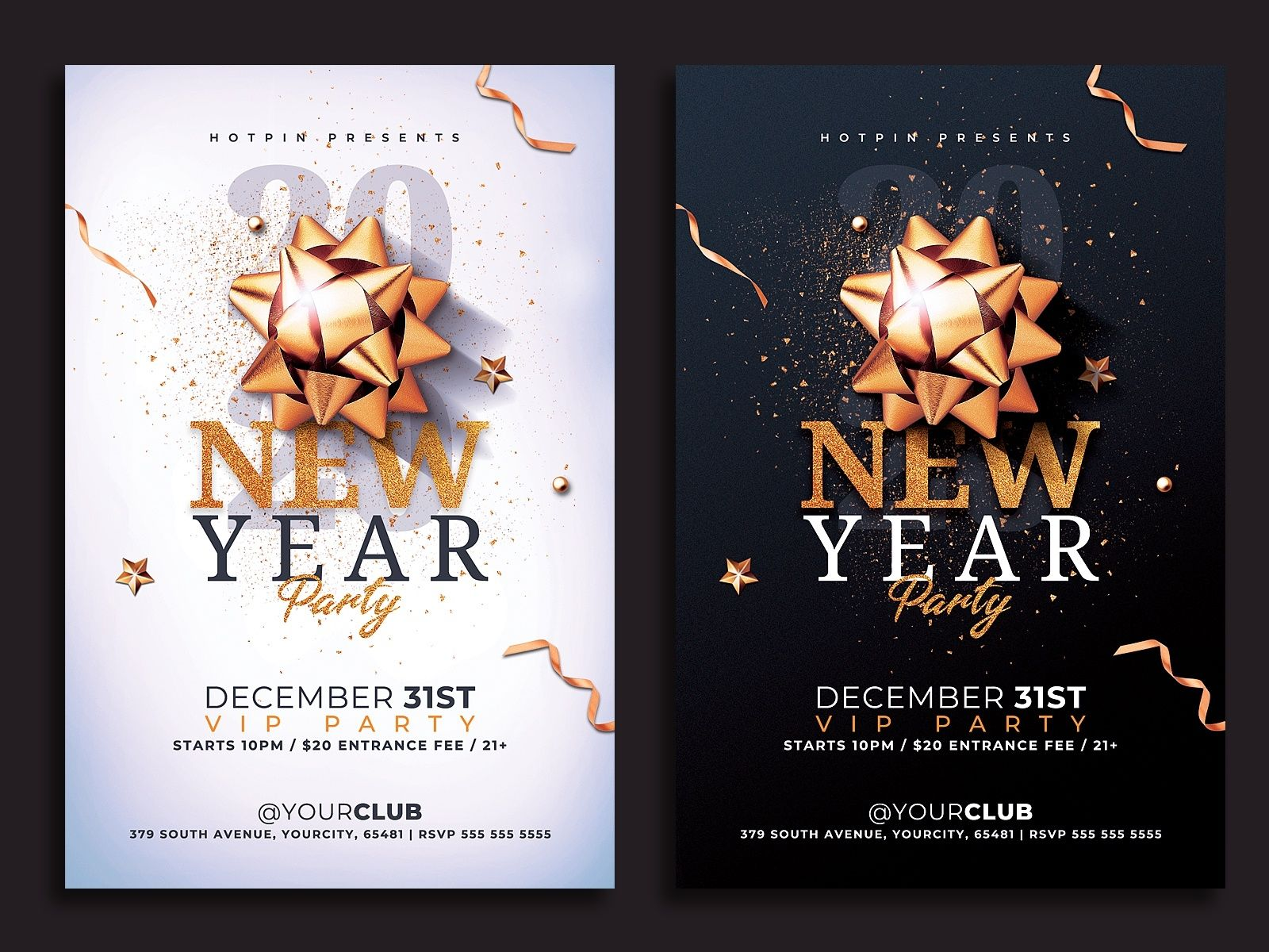 Nye Flyer Ready To Print New Year S Eve Flyer Flyer Design Templates Free Psd Flyer Templates