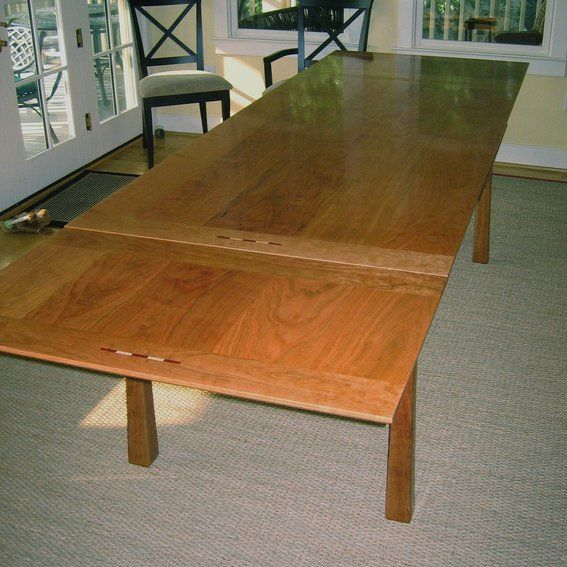 Dutch Pull Out Dining Table Plans Hand Crafted By Joseph Murphy Furniture