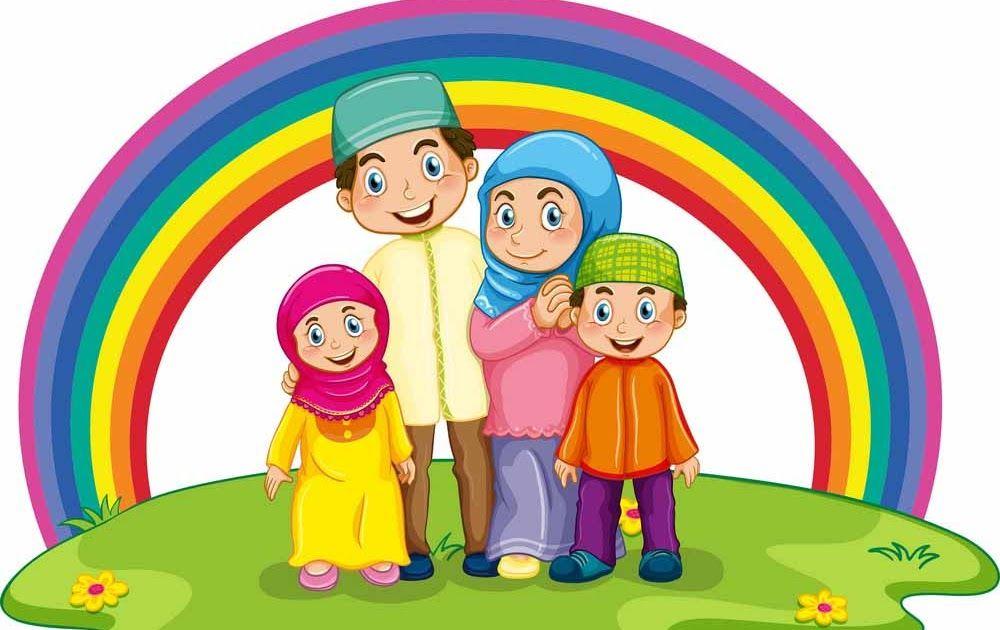 23 Gambar Kartun Rumah Dan Keluarga Gambar Mewarnai Keluarga Lengkap Dengan Contoh Warnanya Download Ibu Dan Ayah Elemen Ka Di 2020 Lukisan Keluarga Kartun Gambar