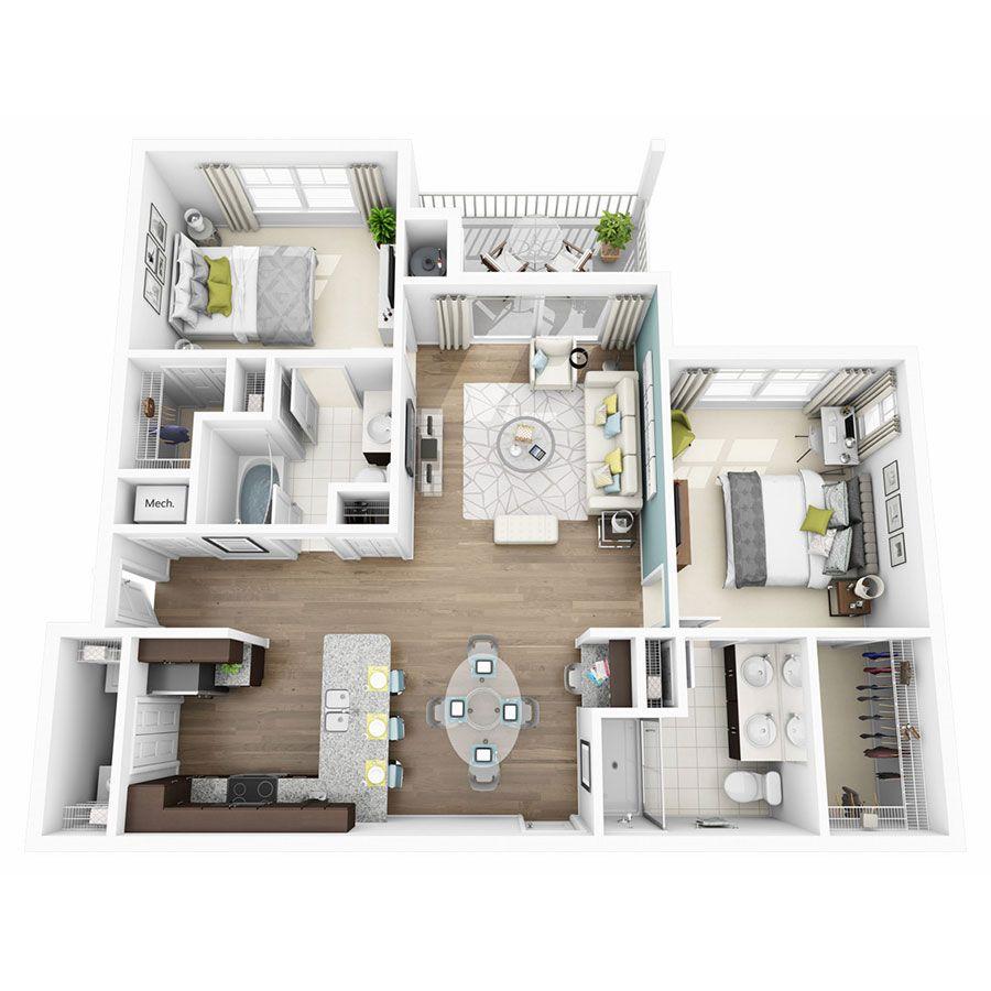 1 2 3 Bedroom Apartments In Austin Tx Altis Lakeline Apartments Apartment Layout Apartment Floor Plans Sims House Plans