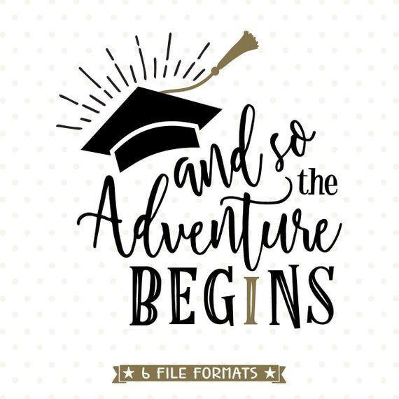 2018 Graduation SVG das Abenteuer beginnt SVGDatei 2018 Senior SVG Graduation Shirt Eisen 2018 Graduation SVG das Abenteuer beginnt SVGDatei 2018 Senior SVG Graduation Sh...