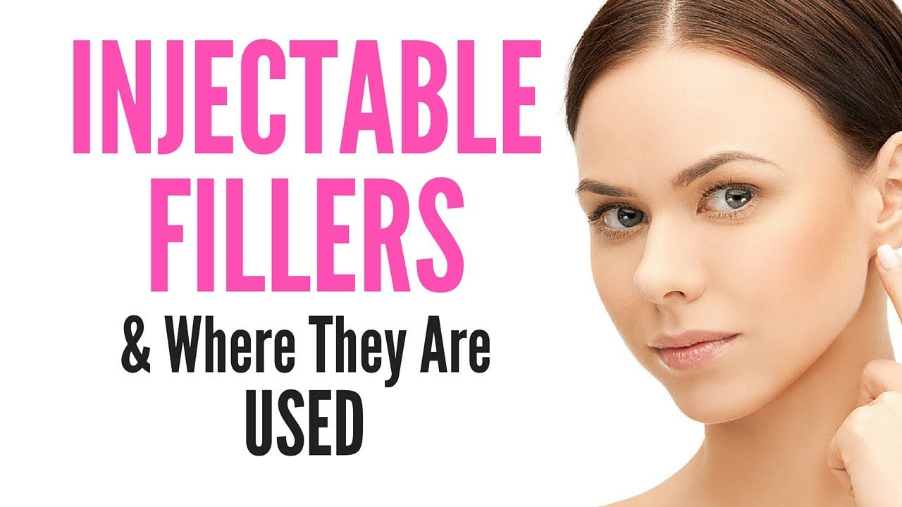 Fillers and where they are used facial rejuvenation