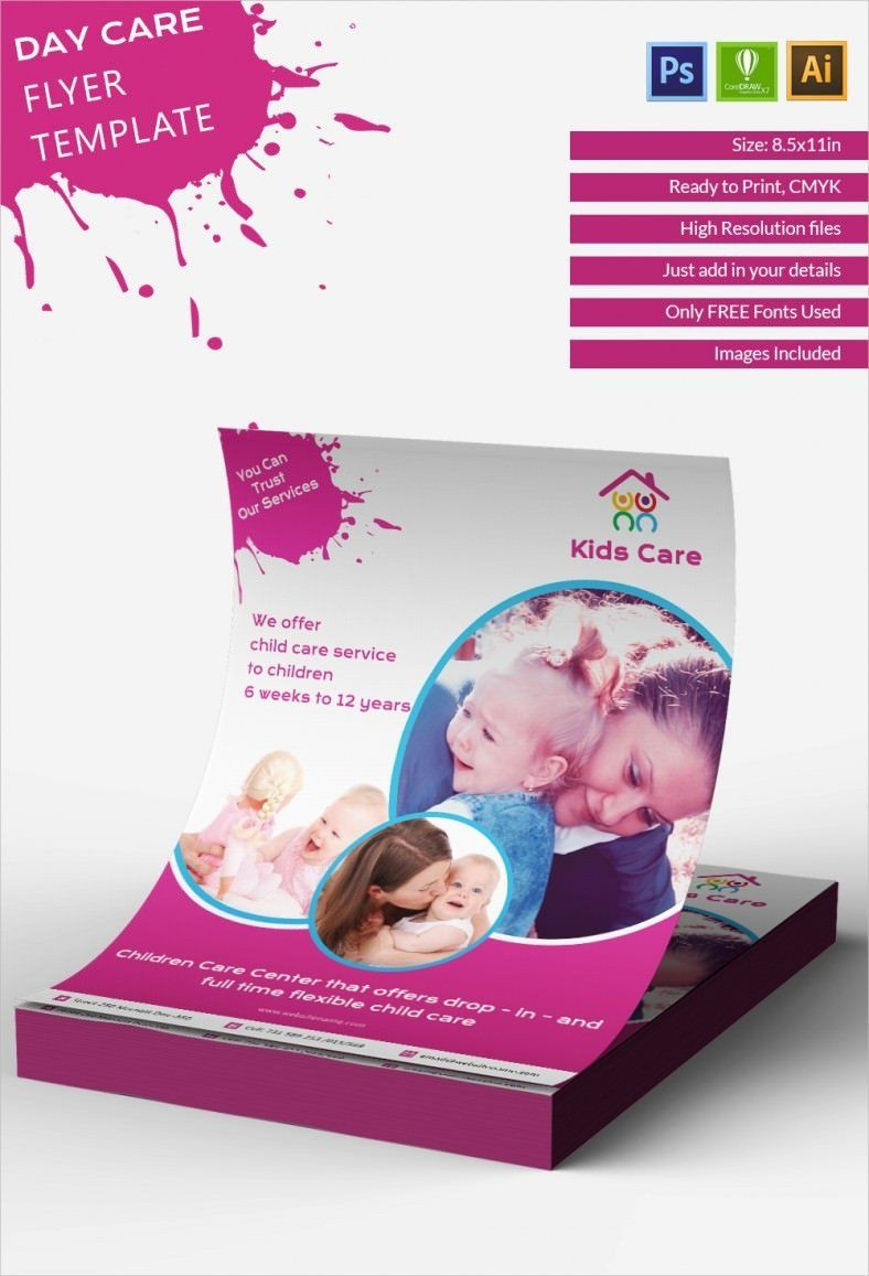 Free Daycare Flyer Templates Daycare Flyer Template 27 Free Psd Ai Vector Eps Flyer Template Flyer Free Flyer Templates
