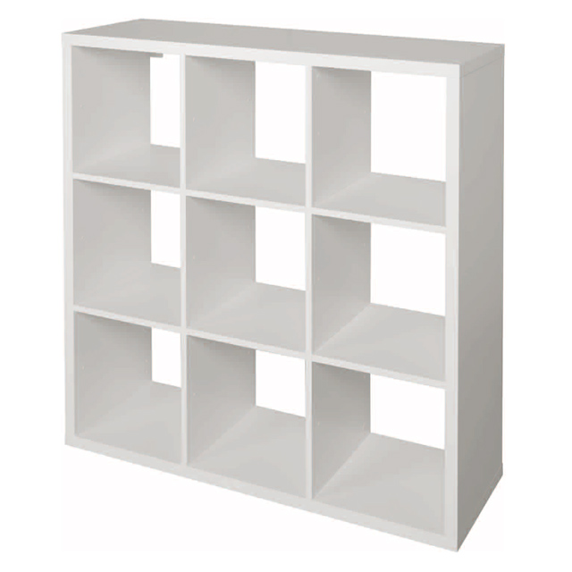 Etagere Modulable 9 Cases Blanc Mixxit Cube Rangement Meuble Rangement Rangement Modulable