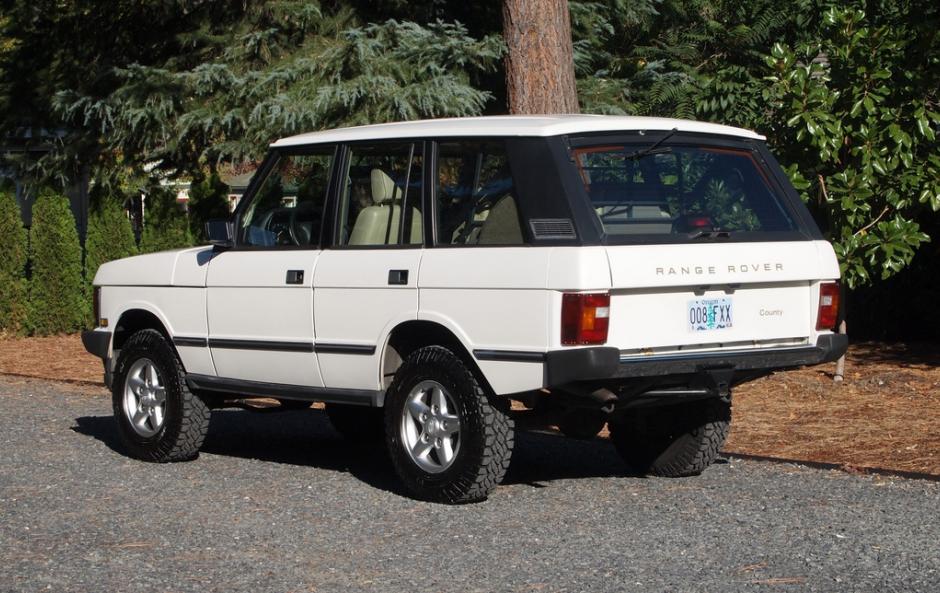 1995 Range Rover Classic SWB Range rover classic, Range