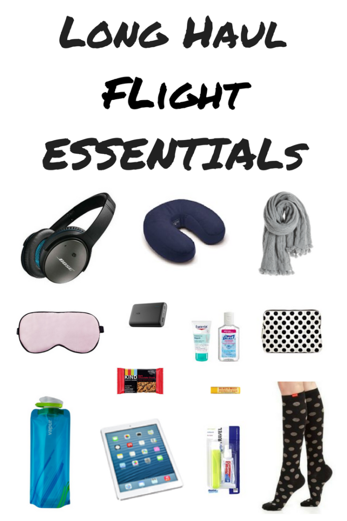 Long Haul Flight Essentials That Every Flyer Needs! is part of Long Haul Flight Essentials That Every Flyer Needs - I have a list of long haul flight essentials that I always pack in my carry on bag for overnight or international flights  My long haul flight essentials list includes all items I need to be comfortable and entertained on a long flight in economy