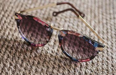 óculos floral - óculos forever 21